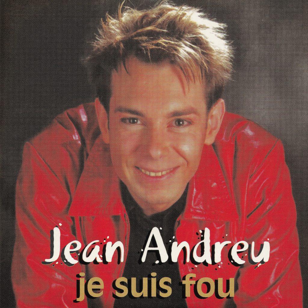 Album Cover Jean Andreu Je suis Fou