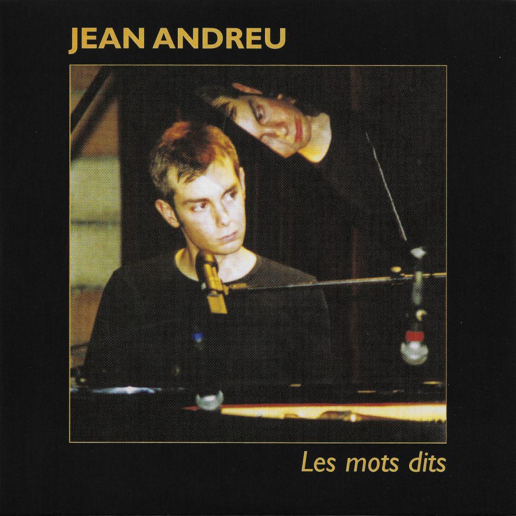 album Cover Jean Andreu Les Mots Dits