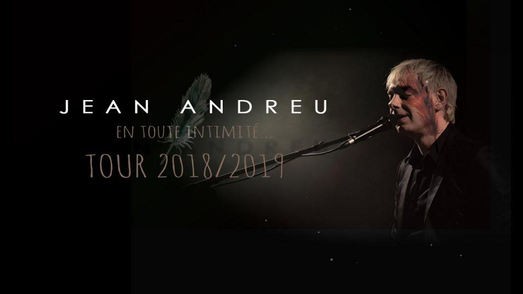 Visuel concerts Jean Andreu tournée 2018/2019